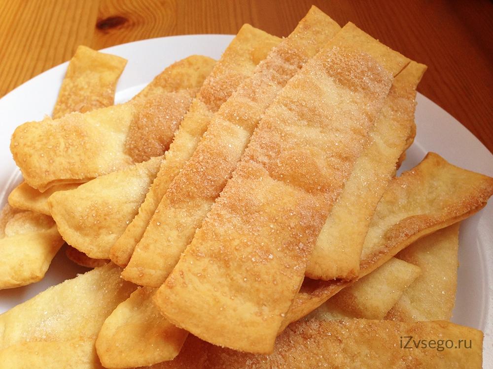 хрустящие и вкусные печенья рецепт